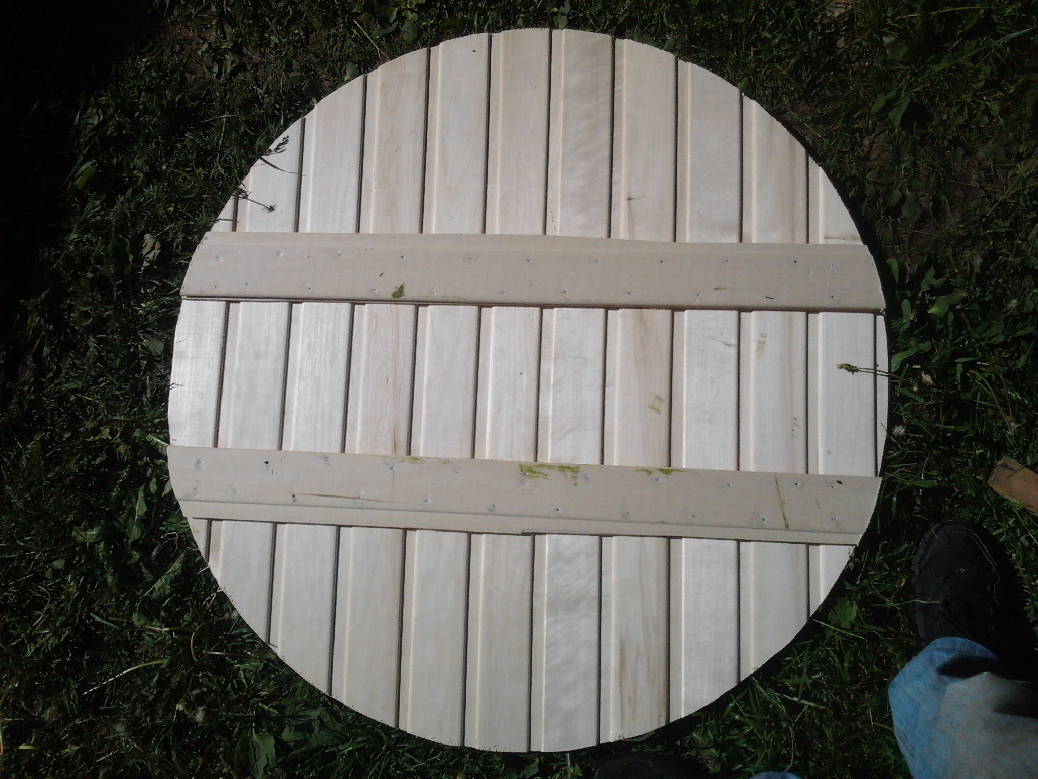 Как сделать щит для колодца